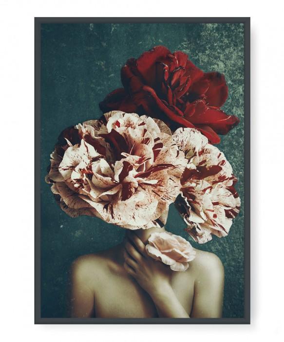 Plakaty - Woman flower