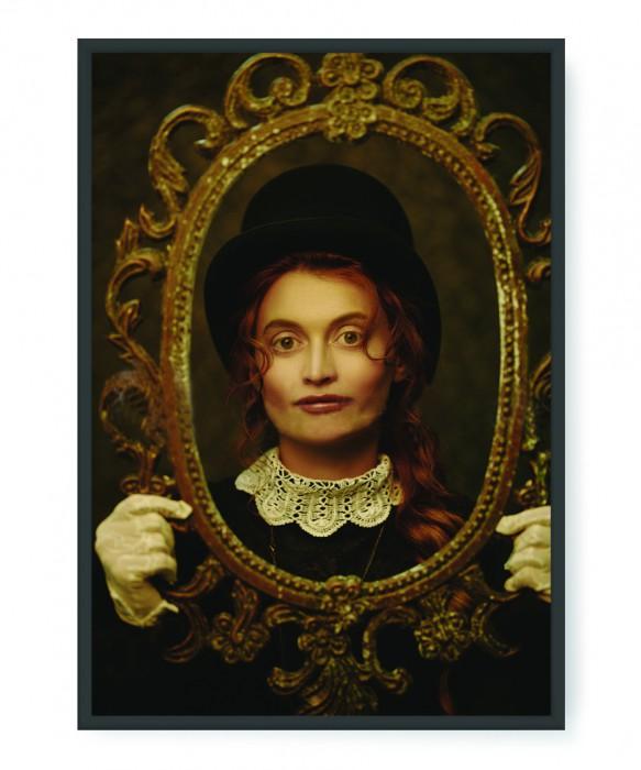 Plakaty - Old vintage portrait