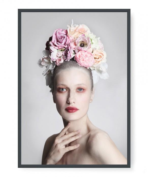 Plakaty - Flower hairdo
