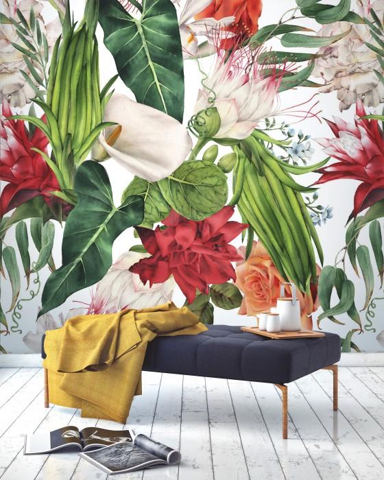 FLORAL - Tropikalne kwiaty