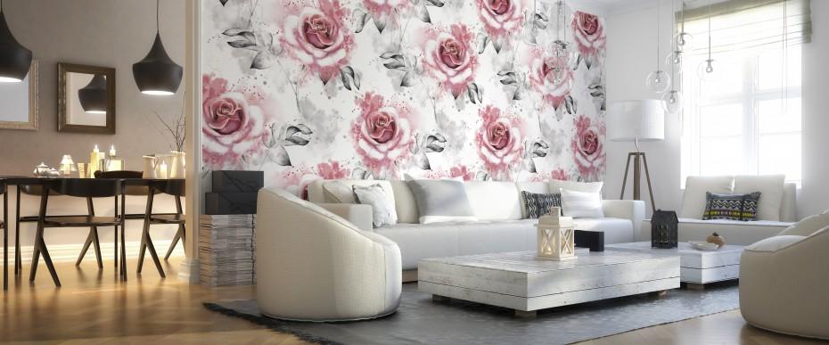 FLORAL - Pink roses