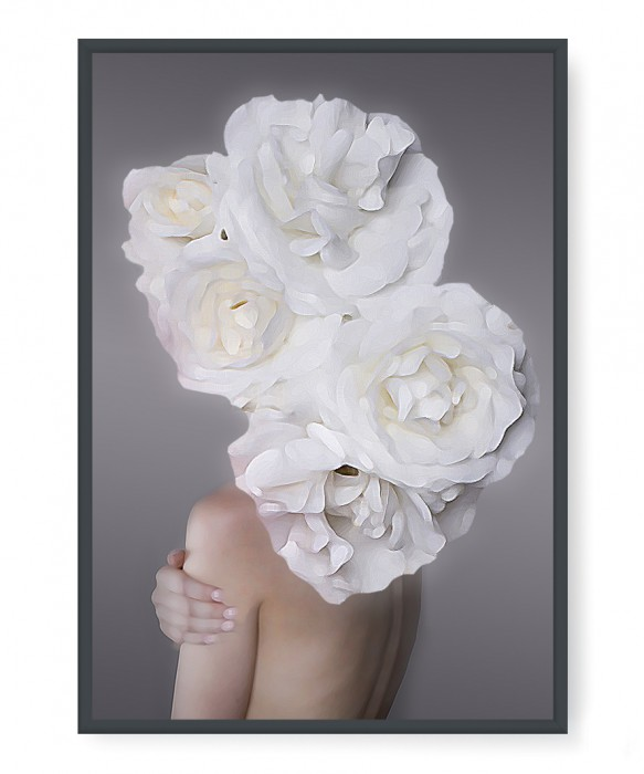 Plakaty - Head of flowers