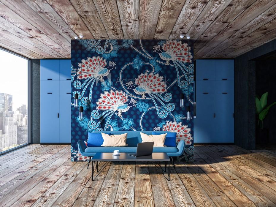 Clasic Blue - Indonesian batik