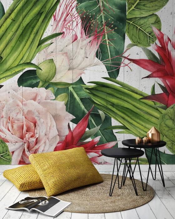 FLORAL - Tropikalne kwiaty 2