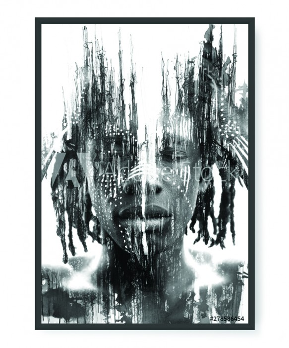 Plakaty - African man